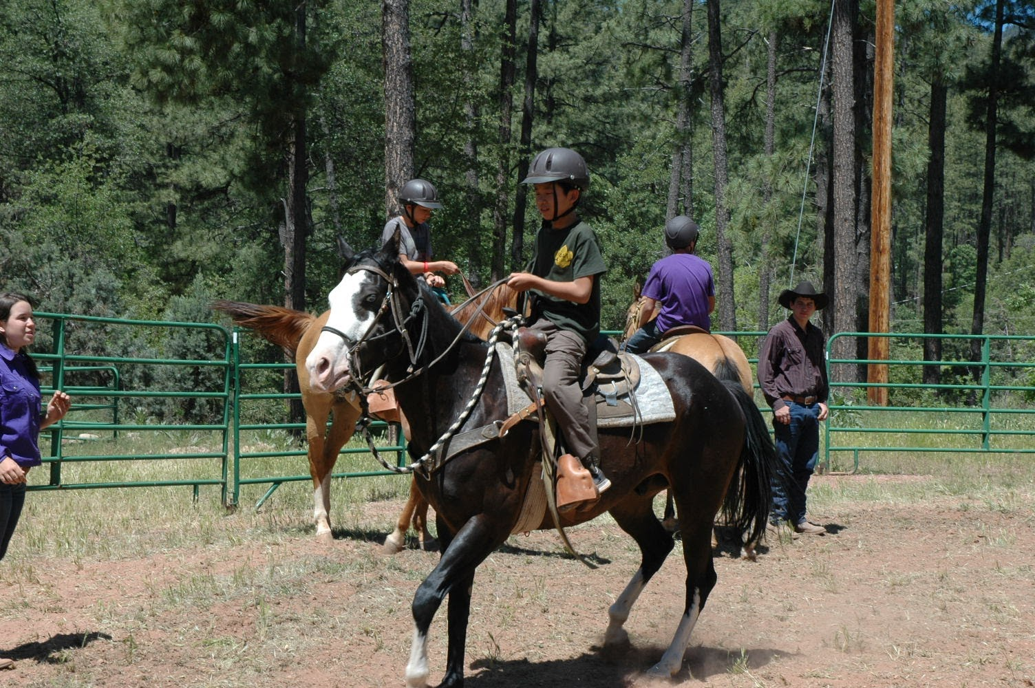 Camp Geronimo June